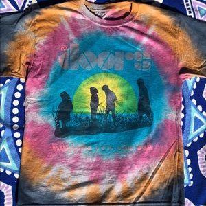 Tie Dyed Doors Shirt